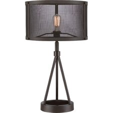 """Union Station 26.5"""" H Table Lamp with Drum Shade"""