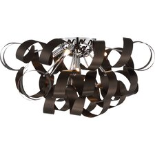 Ribbon 5 Light Flush Mount