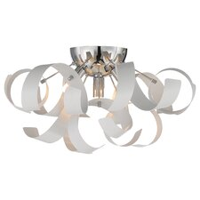Ribbon 4 Light Flush Mount