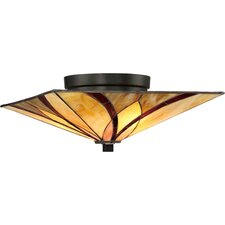 Asheville 2 Light Floating Flush Mount