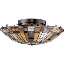 Inglenook 2 Light Floating Flush Mount