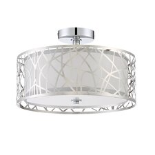 Abode 3 Light Semi Flush Mount