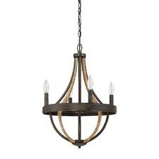 Pembroke 4 Light Candle Chandelier
