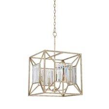 Sabrina 4 Light Cage Chandelier