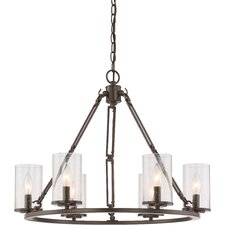 Buchanan 6 Light Candle Chandelier