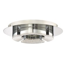 Lunette Platinum Flush Mount