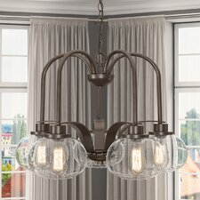 Trilogy 5 Light Dinette Chandelier