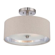 Metro 2 Light Semi-Flush Mount