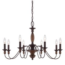 Holbrook 8 Light Chandelier