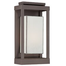 Powell 1 Light Outdoor Flush Mount