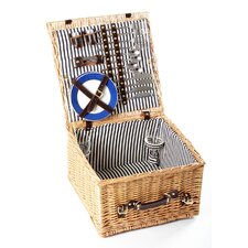 Winchester Willow Picnic Hamper for Four People