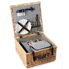 Sandbanks Willow Picnic Hamper for Two People
