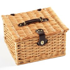 Dorchester Willow Picnic Hamper for Two People