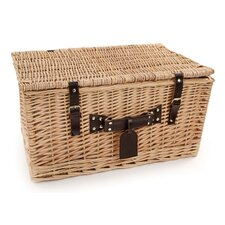 Ludlow Willow Picnic Hamper for Four People