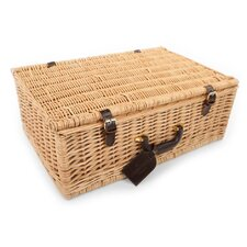 Beaulieu Willow Picnic Hamper for Four People