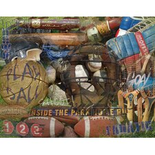 Man Cave FANatic Sports Image Graphic Art on Wrapped Canvas