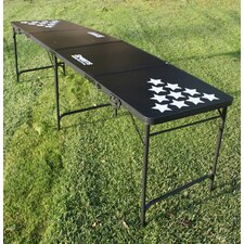 Stars Portable Beer Pong Table