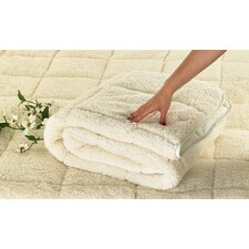 Sherpa Teddy Bear Comfort Mattress Topper