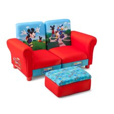 Mickey Children's Sofa and Ottoman