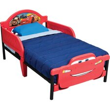 Cars 3D Twin Convertible Toddler Bed