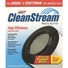 CleanStream® High Efficiency Wet/Dry Vac Cartridge Filter  903-61-00