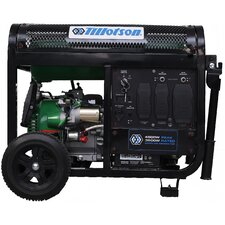 4,500 Watt Electric Start Portable Dual Fuel Generator