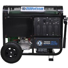 6,750 Watt CARB Electric Start Portable Dual Fuel Generator