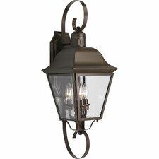 Andover 3 Light Outdoor Wall Lantern