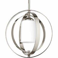 Equinox 1 Light Small Foyer Lantern