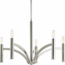 Draper 5 Light Candle Chandelier