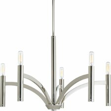 Draper 5 Light Candle Chandelier