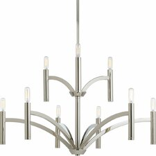Draper 9 Light Candle Chandelier
