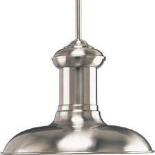 Brookside Brushed Nickel Pendant