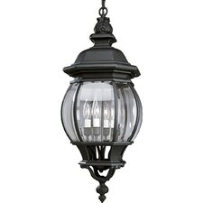 Onion 4 Light Outdoor Hanging Lantern