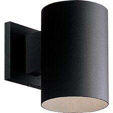 Cylinder 1 Light Outdoor Sconce