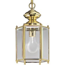 Brass Guard 1 Light Outdoor Hanging Lantern