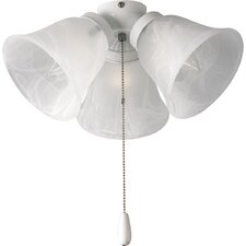 AirPro 3 Light Branched Ceiling Fan Light Kit