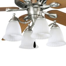 Renovations 4 Light Branched Ceiling Fan Light Kit
