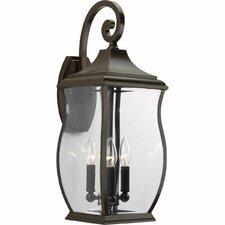 Township 3 Light Outdoor Wall Lantern