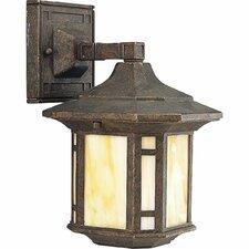 Arts & Crafts 1 Light Outdoor Wall Lantern