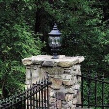 Onion Lanterns 3 Light Outdoor Wall Lantern