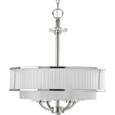 Nisse 4 Light Drum Pendant