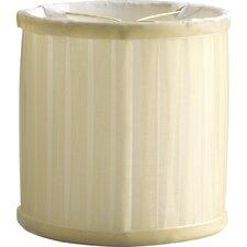 """4.875"""" Chanelle Glass Drum Candelabra Shade"""