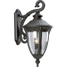 Meridian 3 Light Outdoor Wall Lantern