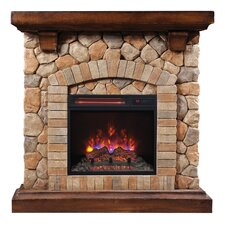 Tequesta Infrared Electric Fireplace