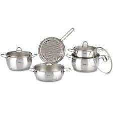Mercury 9 Piece Stainless Steel Cookware Set