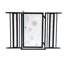 Cool Winter Pet Gate