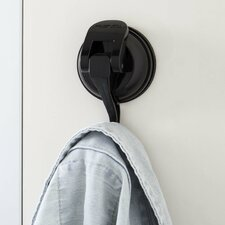 Powerful Push and Lock Color Pop Suction Hook (Set of 2)
