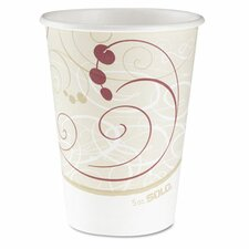 Company Symphony Design Hot Cups, 12 Oz. (Set of 1000)