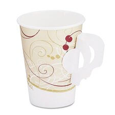 Company Symphony Design Hot Cups with Paper Handle